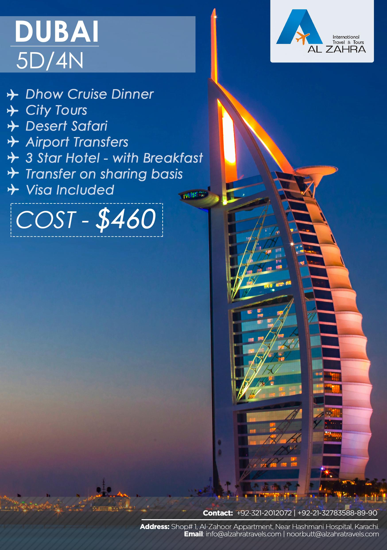 travel package brochure
